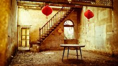 Abandoned Traditional Chinese House