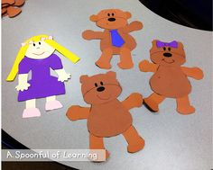 Goldilocks and the Three Bears Activities! and FREEBIES!