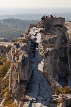 Tour Sarrazine, les Baux de Provence