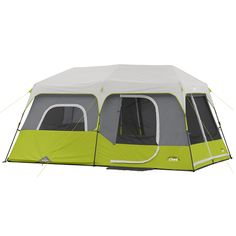 CORE 9 Person Instant Cabin Tent - 14u0027 ...  sc 1 st  Pinterest & Walmart: Ozark Trail Instant Tent Cot with Rainfly Only $46.60 ...