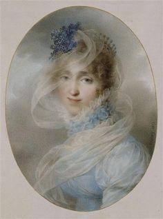 1813 Hortense Bonaparte by Jean-Baptiste Isabey