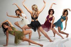 64 Ideas For Modern Dancing Clothes Lyrical Costumes Modern Dance Costume, Cute Dance Costumes, Dance Costumes Lyrical, Jazz Costumes, Costumes Kids, Group Costumes, Dance Team Pictures, Dance Picture Poses, Dance Photo Shoot