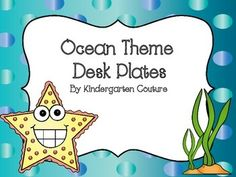 There are 6 choices of desk plates. All of the desk plates have the alphabet and numbers to 20. See the thumbnails for what is included.Other Ocean Theme Items:Ocean Theme Behavior Clip ChartOcean Theme Classroom RulesOcean Theme Desk PlatesOcean Theme Schedule CardsOcean Theme Word Wall and WordsOcean Theme Number Posters Key words:  Ocean, Ocean Classroom Theme, name plates
