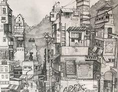 "@Behance portfolio: ""Dream city"" http://be.net/gallery/48719887/Dream-city"