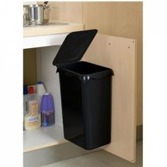 Rossignol Portasac 98740 Waste Bin Door-Mounted 23 L Black