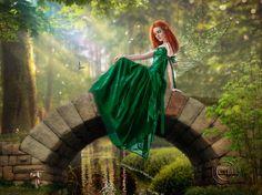 Forest Fairy by AliaChek.deviantart.com on @DeviantArt