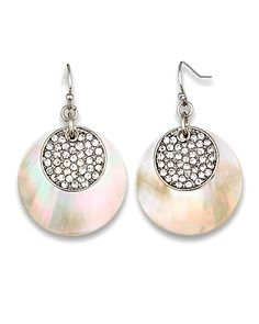 The pave set stones are lovely as well as the mother-of-pearl.
