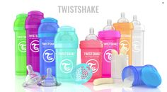 Move Over Plain Jane Baby Bottles, Take a Closer Look at the FUN TWISTSHAKE Baby Bottle Colors! #babybottle #feedingsystem #twistshake #baby #babyshowergift #gift #ad LeahSay's Views