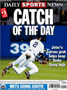 As Derek Jeter passes Lou Gehrig as the Yankees all-time hit king, the News looks back at some of the most memorable back pages featuring the Yankees captain. Lou Gehrig, Derek Jeter, New York Yankees, Mlb, Baseball Cards, News, Sports, Hs Sports, Sport