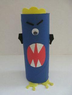 Cardboard Tube Aliens - Fun Family Crafts