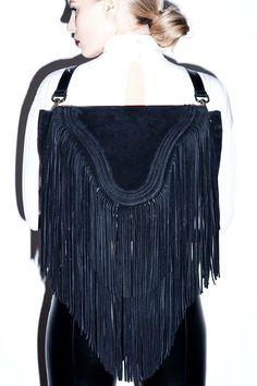Borsa Bags Shoulderbag/backpack With fringes