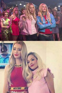 Iggy Azalea and Rita Ora look like the Wayans bros in White Chicks