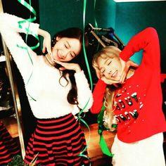 Girl's Generation • Yoona & Taeyeon  ~ Christmas ~
