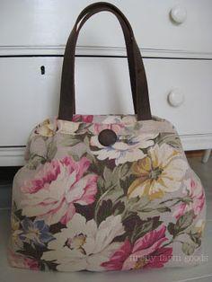 vintage fabric bag... love
