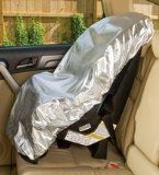 Mommy's Helper Car Seat Sun Shade - it is supposed to keep the car seat 25+ degrees cooler