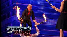 The Kamakazi Fireflies: Vaudevillian Act Juggles Fire with Nick Cannon -...