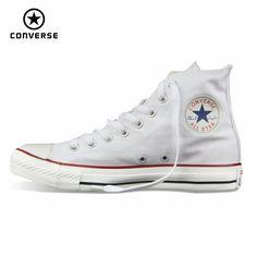 원래 컨버스 올스타 신발 남성 여성 운동화 캔버스 신발 모든 블랙 높은 클래식 스케이트 보드 신발 무료 배송