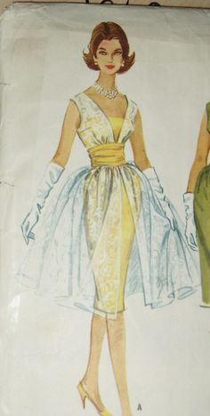 1960's style evening wear