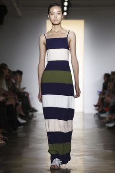 LOVE! Silhouette (Column Maxi) + Color Combo - Peter Som Ready To Wear Spring Summer 2015 New York #NYFW #SS15 #RTW