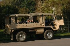 One of our pinz vehicles we use for wildland safaris in West Sussex