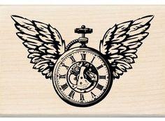 timbro orologio ali