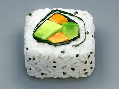 California Roll Icon I love the details that render this as a yummy looking piece of sushi.Being that i love sushi as well as this icon looks so real its seems good enough to eat. They have managed to illustrate it giving it good proportions and co App Icon Design, Ui Design, Graphic Design, Launcher Icon, Mobile App Icon, Mobile Ui, Application Icon, Food Painting, App Logo