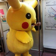 Weirdest Moments Caught On Photo In Public Transportation