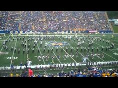McNeese State University's band performing Joli Blon during Pregame in Band Fun, Cool Bands, Fall Football, Fight Song, Lake Charles, College Tips, Southern Comfort, Music Education, Tailgating