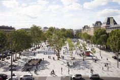 La Plaza de la República en Paris recientemente ha sido aplastada por las exigencias de la movilidad moderna. Cada dí...