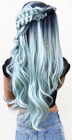 blue ombre hair color trend in trendy hairstyles and colors blue ombre hair; - blue ombre hair color trend in trendy hairstyles and colors blue ombre hair; blue ombre hair color trend in trendy hairstyles and colors blue ombre hair; Source by – Hair Dye Colors, Ombre Hair Color, Cool Hair Color, Pastel Hair Colors, Dyed Hair Ombre, Dye My Hair, Light Hair Colors, Pastel Ombre Hair, Trendy Hair Colors