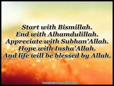 And life will be blessed by Allah! @Sara Eriksson Eriksson El Makdah