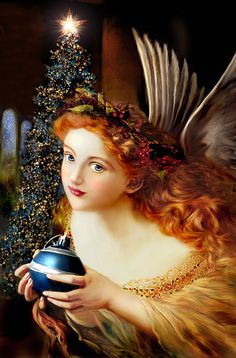 Christmas angel--so beautiful...
