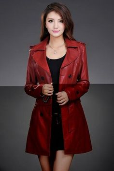 57ad4ad68c138 Leather Jacket Women Top Fashion New Plus Size Slim Dual Use Pu Removable  Ladies Faux Synthetic