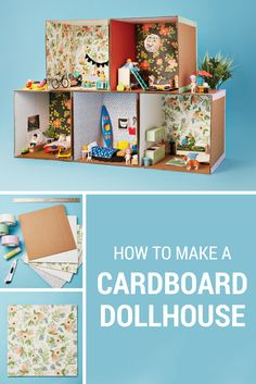Who knew cardboard boxes could be so much fun? We did! Banish rainy day boredom with this super fun cardboard box craft.