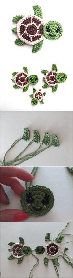 Crochet Cute Turtles