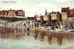 Brighton, Bathing Machines