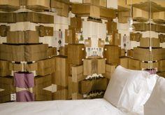 Living in a cardboard box by Denise de Geijter - Mirjam Bleeker | Hotel The Exchange - Amsterdam