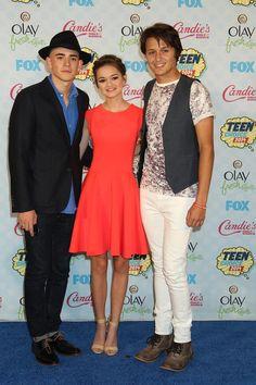 Red Band Society cast at the Teen Choice Awards 2014