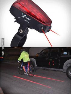 XFire Bike Lane Safety Light...pretty cool