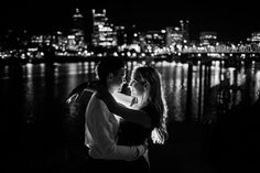 Glam Portland Engagement Photography / photos / shoot / by Dina Chmut Photography
