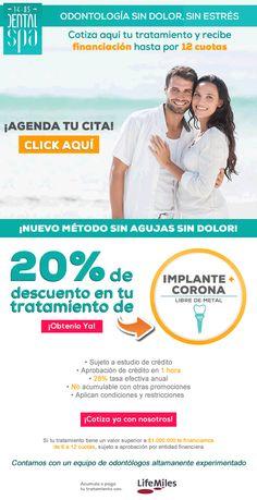 #DentalSpa #Nuevométodo #Sinagujas #Sindolor! Excelentes descuentos y beneficios