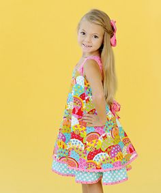 Take a look at this Happy Patty Dress - Infant & Girls by Jelly The Pug on #zulily today!
