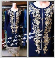 #BuyDesignerSuit Price : 2200/- Maharani Designer Boutique www.maharanidesigner.com Cont.8699101094