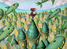 Fantasy art - Plant city