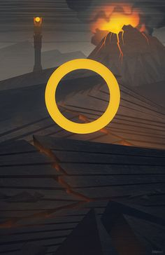 Minimalist LOTR poster by Rob Loukotka. Return of the King