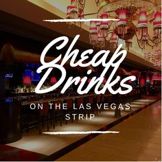 The price of everything seems to be going up in Las Vegas, however, you can still find cheap drinks and happy hour deals at these bars on the Las Vegas Strip! Las Vegas Eats, Las Vegas Love, Las Vegas Vacation, Las Vegas Nevada, Vegas Bars, Best Happy Hour, Usa Tumblr, Las Vegas Weddings, Trip Planning