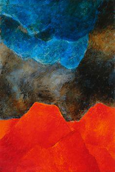 Akbar Padamsee - Untitled @ Akbar Padamsee - Giclee Canvas Prints | StoryLTD