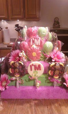 Girl Mod Monkey Chocolate Lollipop Party Favor by TrishZDelishZ, $85.00