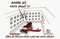 Sponholz: Papuda virou escritório de Zé Dirceu!