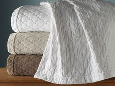The Othello Matelasse Coverlet a vintage wash perfect for relaxed living.